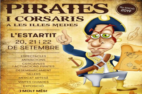"""New edition of the """"Fira de Pirates i Corsaris de les Illes Medes"""" – September 2019"""