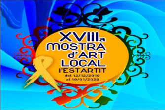 Inauguration of the local art exhibition l'Estartit – December 2019